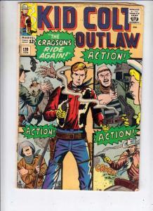 Kid Colt Outlaw #120 (Jan-65) VG Affordable-Grade Kid Colt