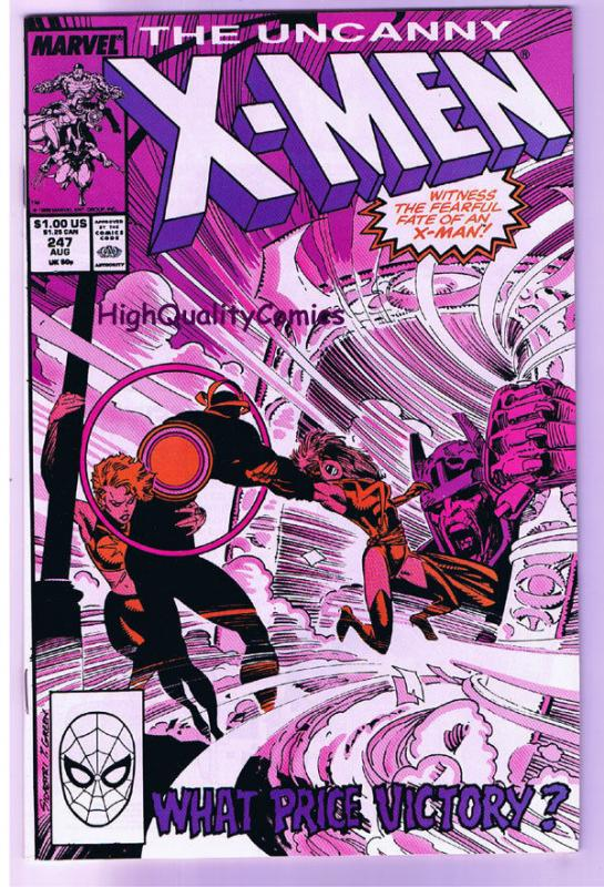 X-MEN #247, VF/NM, Wolverine, Chris Claremont, Uncanny, more in store