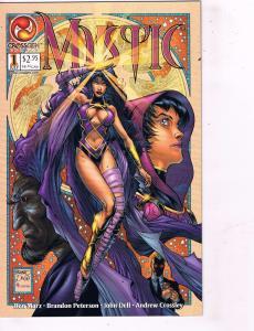 Lot of 4 Mystic DC Comic Books # 1 2 3 4 Super Heroes AD40
