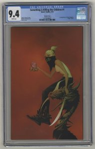 SOMETHING IS KILLING THE CHILDREN #1 - CGC 9.4 - First Print - Virgin Cover