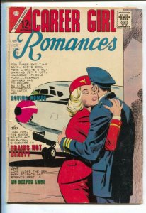 Career Girl Romances #30 1965-Charlton--airline romance-VG