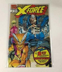 X-force 1 Second Print Nm Near Mint Marvel
