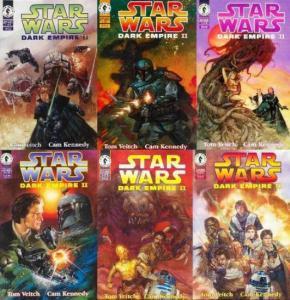 STAR WARS DARK EMPIRE II (1994 DH) 1-6  the sequel...!