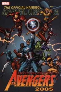 Official Handbook of the Marvel Universe: Avengers 2005 #1 FN; Marvel   save on