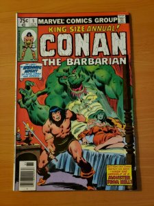 King Size Conan The Barbarian #4 ~ NEAR MINT NM ~ 1979 Marvel Comics