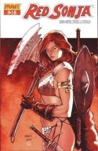 Red Sonja #31 (Dynamite) - Paul Renaud Cover