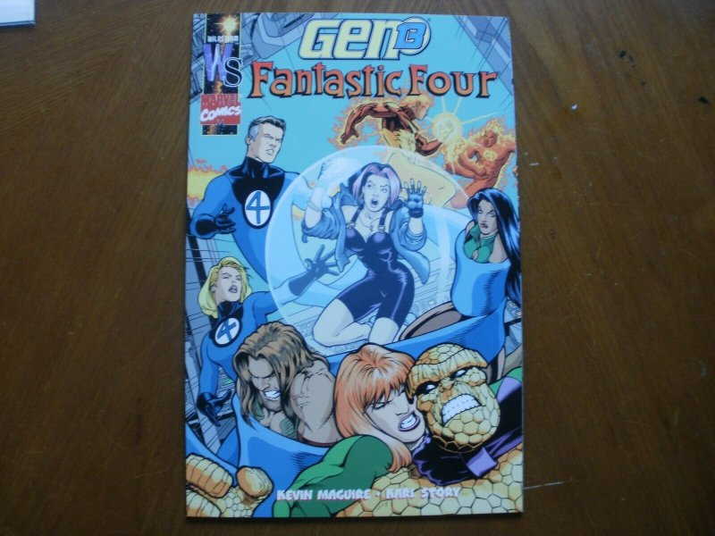 Near-Mint Marvel Wildstorm GEN 13 FANTASTIC FOUR #1 Comic (2001) Maguire Story