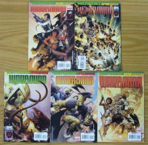 World War Hulk: Aftersmash - Warbound #1-5 VF/NM complete series - greg pak set