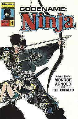 Code Name Ninja #1 FN; Solson   save on shipping - details inside