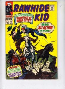 Rawhide Kid #63 (Apr-68) FN/VF+ High-Grade Rawhide Kid