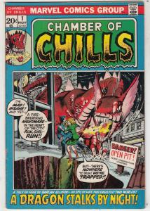 Chamber of Chills #1 (Nov-72) FN/VF- Mid-High-Grade