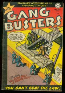 GANG BUSTERS #31 1953-DC COMICS-CRIME-DEATH VALLEY-JAIL VG