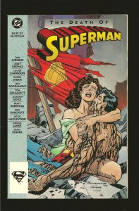 DC Comics The Death of Superman 1993