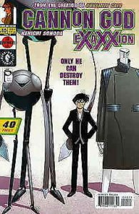 Cannon God Exaxxion #10 VF; Dark Horse | save on shipping - details inside