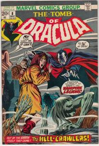 Tomb of Dracula #8 (May-73) VF/NM- High-Grade Dracula