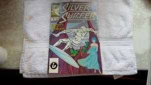 1987 MARVEL COMICS SILVER SURFER # 2