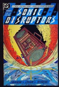 Sonic Disruptors #2 (1988)