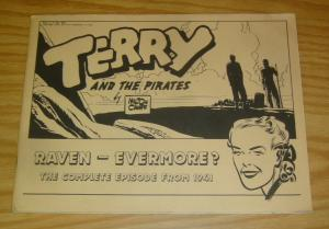 Terry and the Pirates: Raven - Evermore? VF- complete episode from 1941 caniff