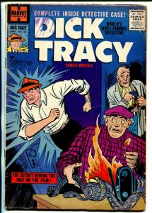 Dick Tracy  #130 1959-Harvey-crime scene cover-Chester Gould-VG