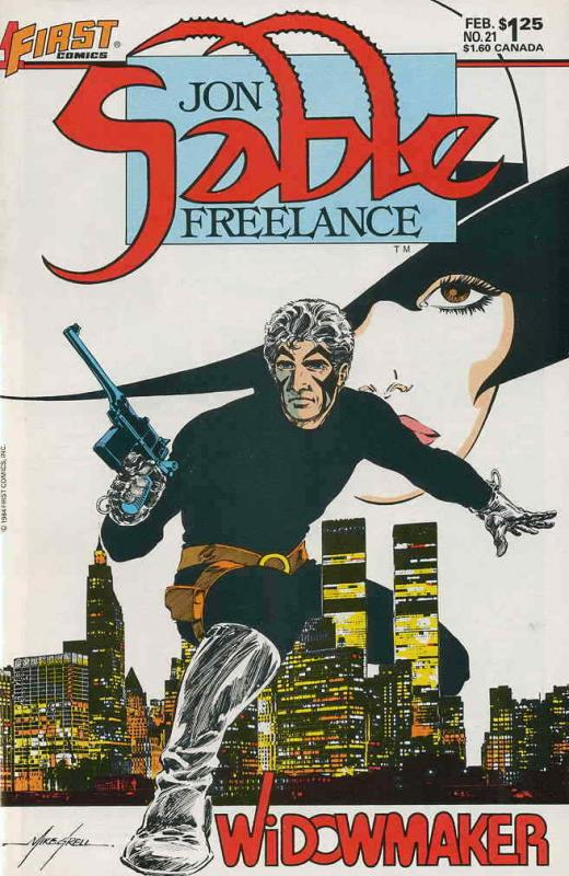 Jon Sable, Freelance #21 VF/NM; First | save on shipping - details inside