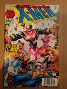 X-MEN #65 Marvel 1997 1st CECILIA REYES NEWSSTAND HTF