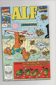 ALF #3 ANNUAL, NM-, Chowabunga, Marvel, 1988 1990, more in store