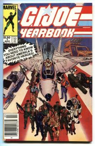 G.I. JOE YEARBOOK #1 1985 Newsstand variant comic book