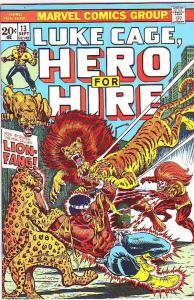 Luke Cage Hero for Hire #13 (Sep-73) VF/NM High-Grade Luke Cage
