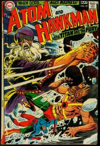 ATOM AND HAWKMAN #42-DC-JOE KUBERT COVER VG