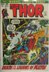 The Mighty Thor #199 - 4.0 VG - 1972