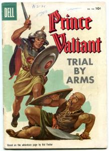 Prince Valiant Trial by Arms- Four Color Comics #788 1957- VG