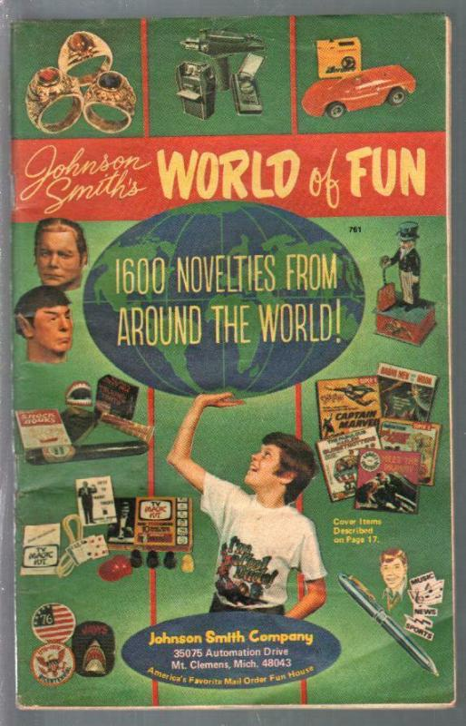 Johnston Smith Co. Catalog World of Fun #761 1975-Str Trek-curios-VG-