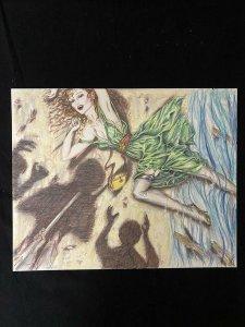 Senorita Original Rio Pin Up by Paula Wolak- comic art
