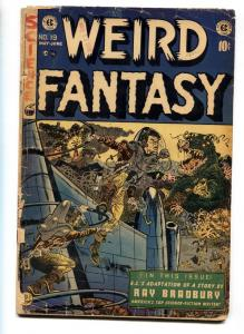 WEIRD FANTASY #19 comic book-Wally Wood-E.C.1953 Horror