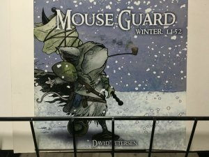 MOUSE GUARD WINTER 1152 - Issues1-6 Complete - ALL 1st Printings - VF or better.