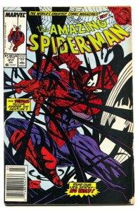 AMAZING SPIDER-MAN #317  Newsstand variant 1989-MARVEL VG