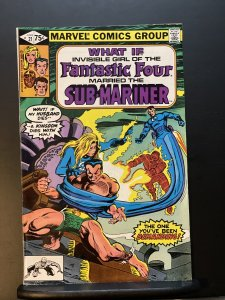 What If Invisible Girl of the Fantastic Four Married The Sub-Mariner #21 (1977)