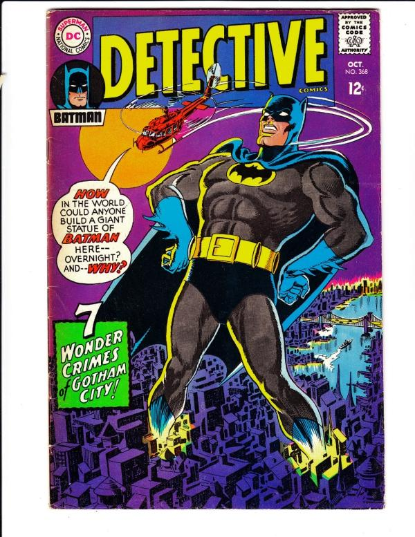 Detective Comics #368 (Oct-67) VF High-Grade Batman