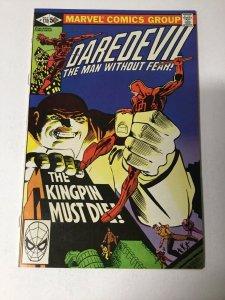 Daredevil 170 Nm Near Mint Marvel