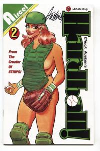 Hardball #2 1991-Signed on cover by CHUCK AUSTEN-comic book