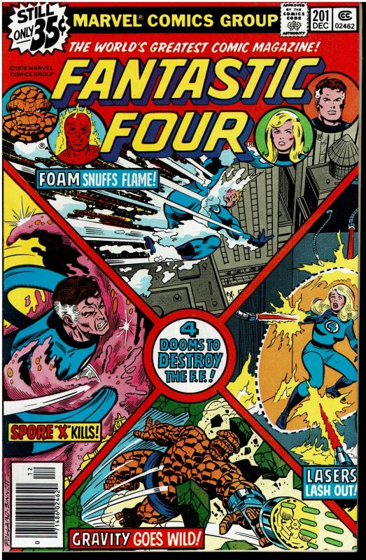 Fantastic Four #201, 9.0 or Better