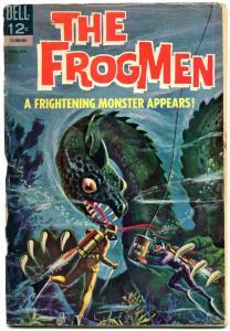 FROGMEN #11-SEA MONSTER COVER FR