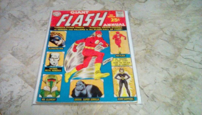 THE FLASH ANNUAL #1 *80 PAGES* by: DC/GD+ 2.5