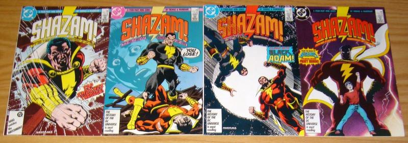 Shazam: the New Beginning #1-4 VF/NM complete series - captain marvel 2 3 set