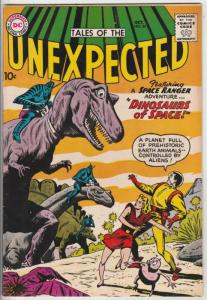 Tales of the Unexpected #54 (Oct-60) VF/NM High-Grade Space Ranger, Cyrl