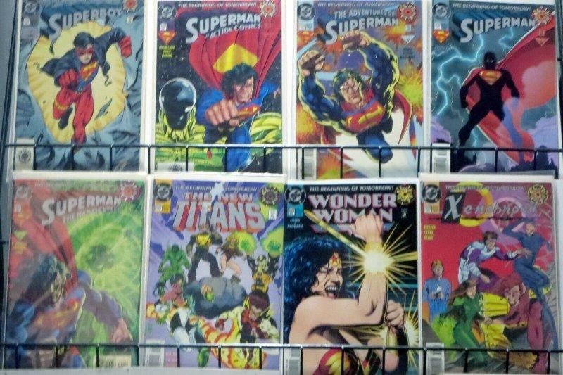 DC ZERO ISSUE COLLECTION! 40 ZERO HOUR X-OVER BOOKS Green Arrow, Wonder Woman