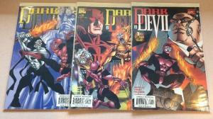Dark Devil 1-3 Complete Near Mint lot Set Run
