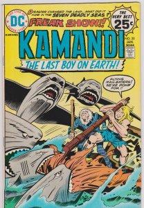 Kamandi, The Last Boy on Earth #25 (Fn)