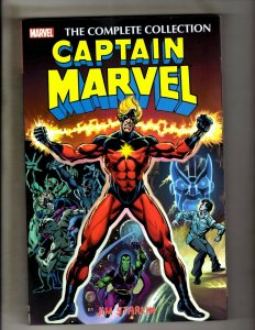 Captain Marvel Jim Starlin The Complete Collection 1st Print 2016 NM Thanos HR8