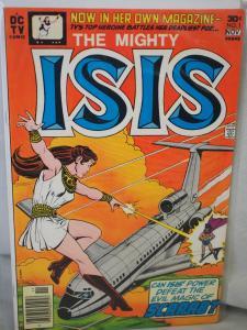 The Mighty Isis 1 F/VF  condition.  Unread. 1976. Scarce  book.